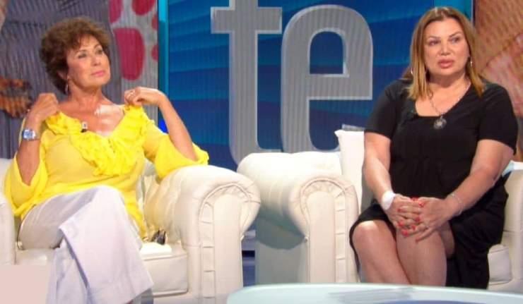 Corinne Clery e Serena Grandi - meteoweek