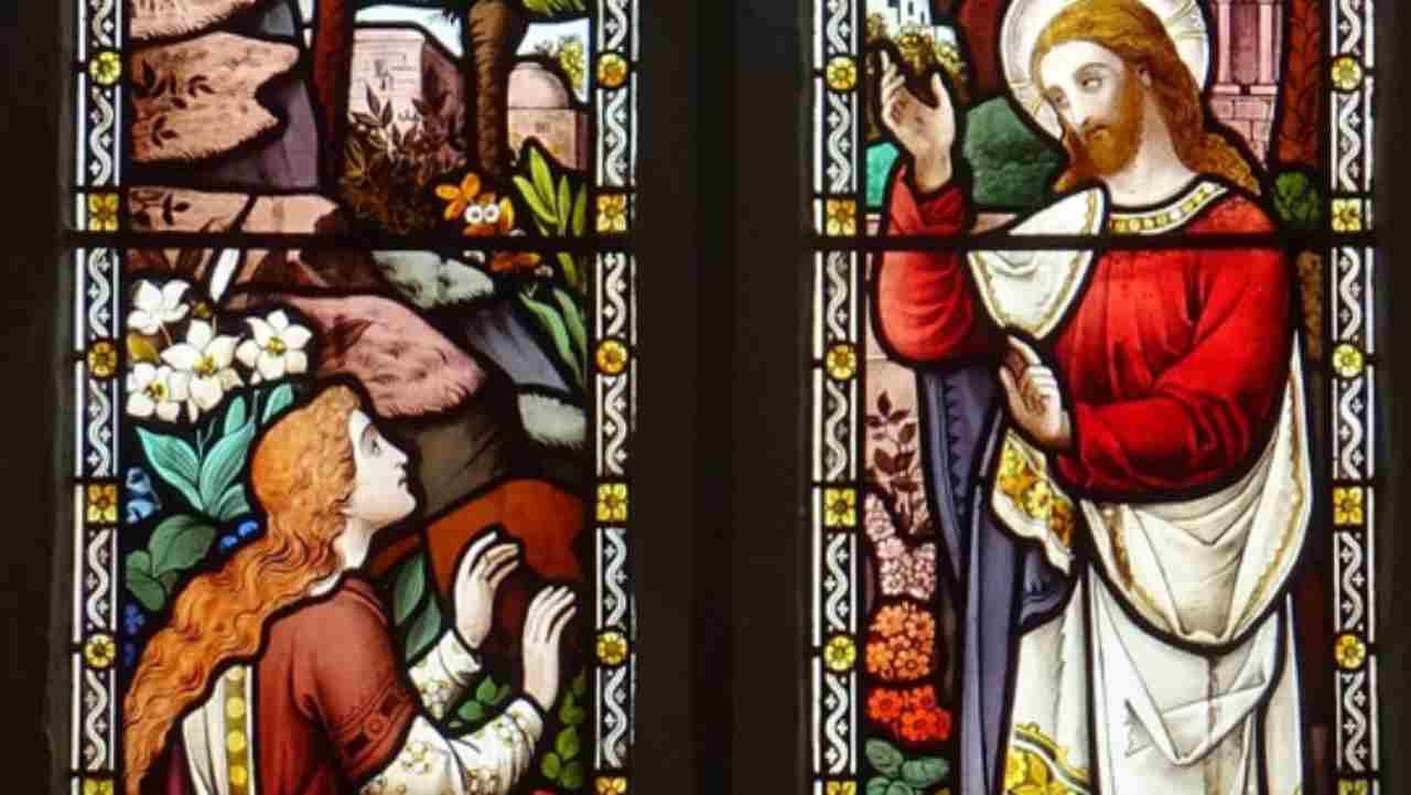 Gesù risorto e la Maddalena