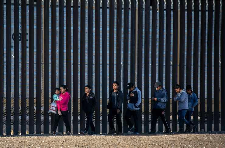 muro del Messico biden