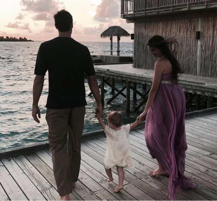 Davide, Francesca e la figlia - Meteoweek