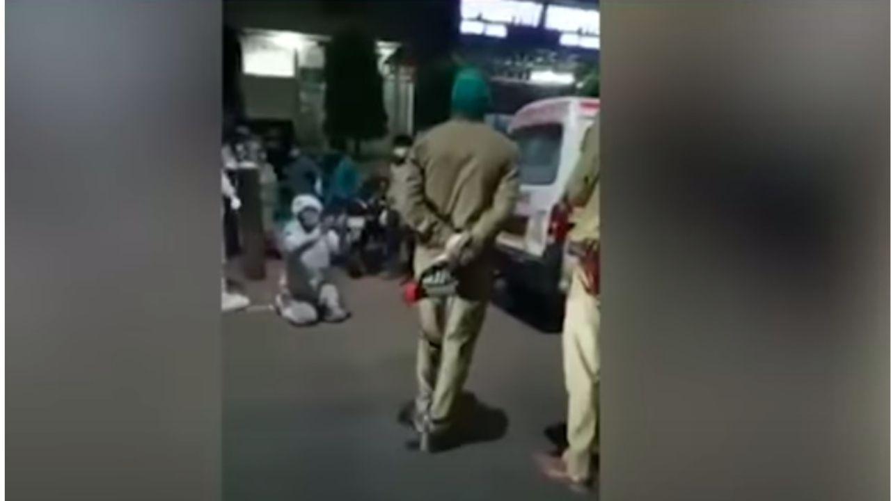 India, polizia porta via bombola d'ossigeno - meteoweek.com