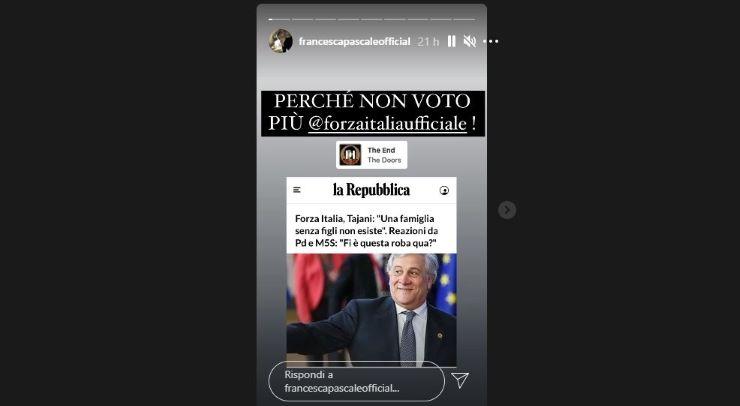 Siamo tutti Francesca Pascale: la tesi assurda (e discriminante) di Tajani - www.meteoweek.com