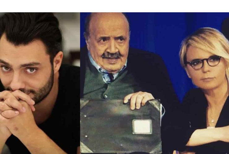 Maurizio Costanzo, Maria De Filippi e Gabriele