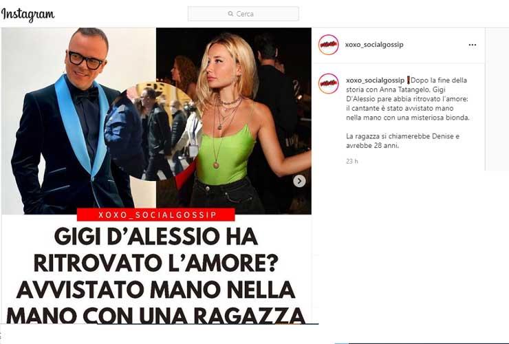 Gigi D'Alessio e Denise