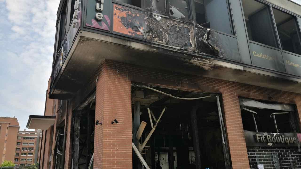 Le immagini dell'incendio appiccato dal dentista insieme alla sua amante - 2