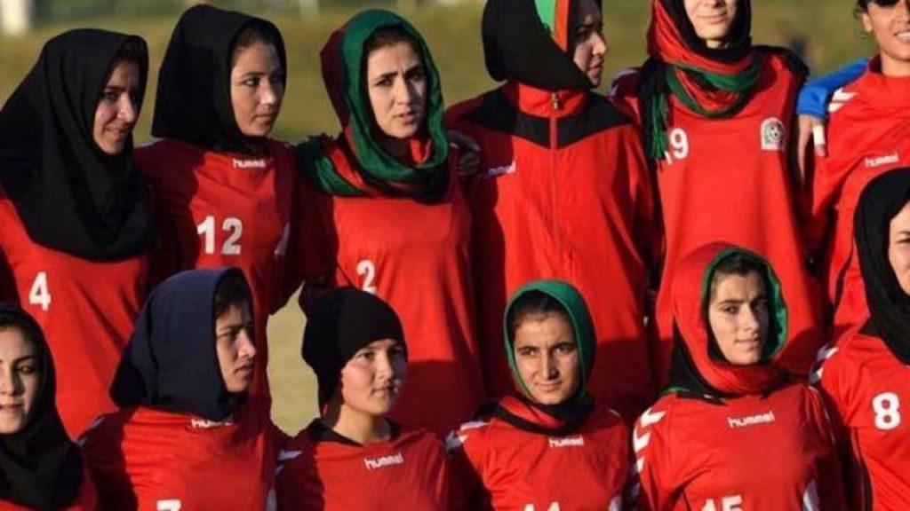 calciatrici afghanistan nazionale
